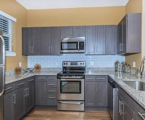 Kitchen, Fountain Lake Apartments