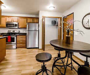 Kitchen, Northbrook Apartments