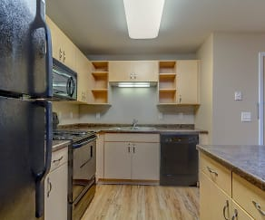 Kitchen, Northern Heights Apartments