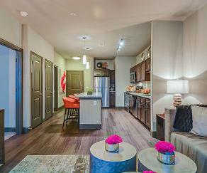 Living Room, North Creek Apartments