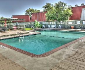 Pool, Garden Park Apartments