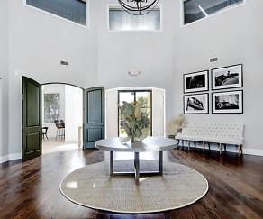 Living Room, Meritage at Steiner Ranch