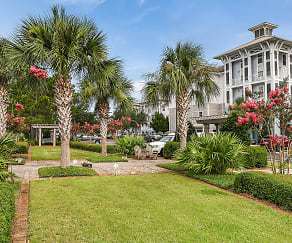 Spacious Courtyards at The Preserve at Henderson Beach, The Preserve at Henderson Beach