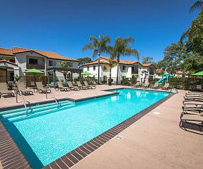 Pool, Barham Villas