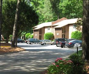 Plentiful Parking, Vantage Apartments
