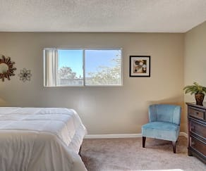 Bedroom, Casas Adobes Apartments