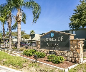 Community Signage, Creekside Villas at Clear Lake