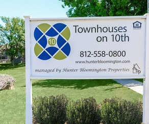 Townhouses on 10th, St Charles Catholic School, Bloomington, IN