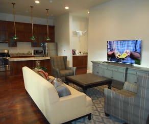Living Room, Remington Apartments