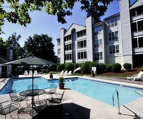 Pool, Charbonneau Apartments