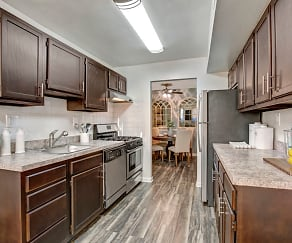 Kitchen, The Gateway Apartments