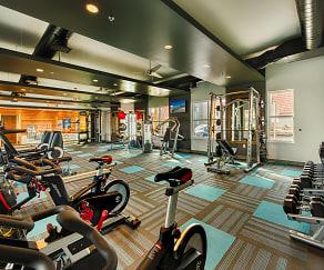 Fitness Weight Room, Denim Scottsdale