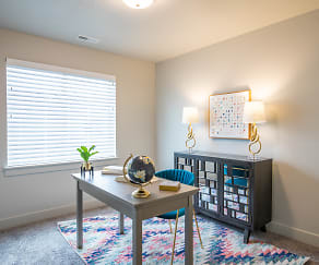 Living Room, Haven Cove Townhomes