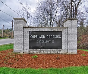 Community Signage, Copeland Crossing Apartments