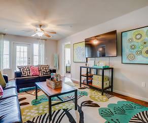 Living Room, University Village at Austin