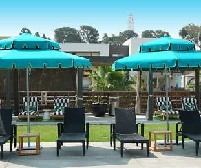 Pool, Runway Playa Vista