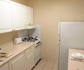 Kitchen, Furnished Studio - Dallas - Farmers Branch