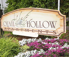 Community Signage, Quail Hollow Apartments