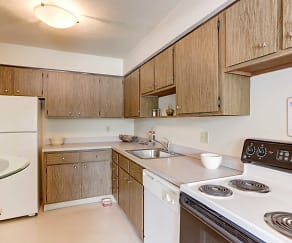 Kitchen, Kimberly Park Apartments