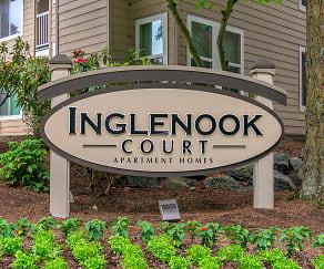 Community Signage, Inglenook Court Apartments