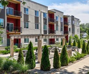 Building, Red Cedar Flats
