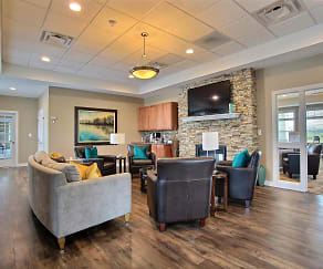 Lake Crest Apartments - Clubhouse-Lounge, Lake Crest Apartments