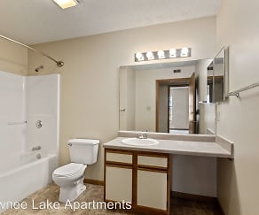 Bathroom, Shawnee Lake Apartments, LLC