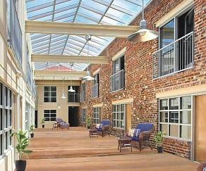 Courtyard, Atrium Lofts at Cold Storage