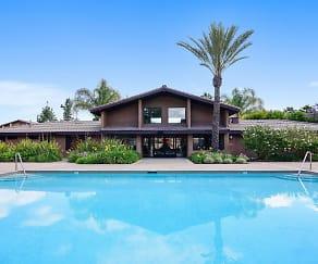 Pool, Hidden Cove Apartments