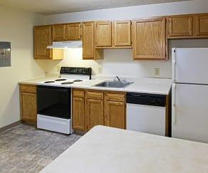 Kitchen, Hudson Terrace Apartments