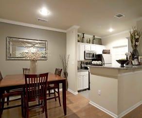 Dining Room, Lexington Park Apartments