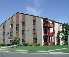 Building, Skaff Apartments - Moorhead