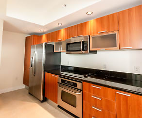 Kitchen, 241 Riverside Drive Unit 1605
