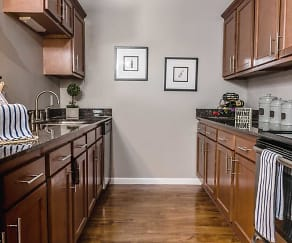 Kitchen, Emberwood Apartments
