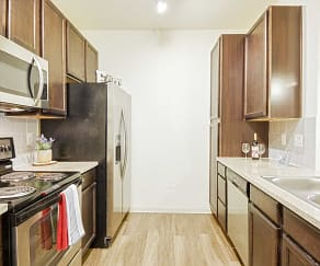 Kitchen, Sorrento Apartments
