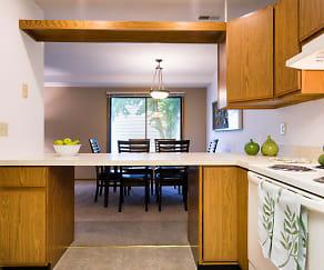 Kitchen, Fox Forest Townhomes