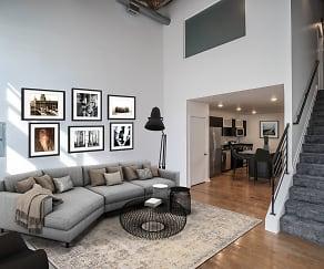 Living Room, Iron Mill Lofts