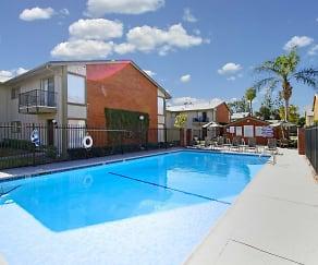Pool, Tustin Village Apartments
