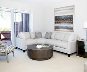 Living Room, Carlton Arms Of Bradenton