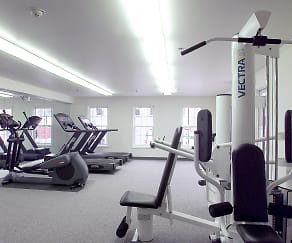 Fitness Weight Room, Spinnaker Apartments