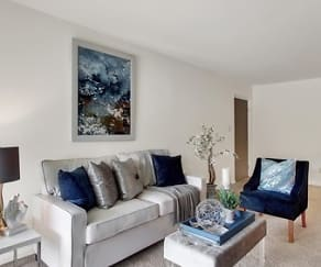 Living Room, Westgate Apartments