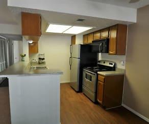 Kitchen, Timberline Condominiums