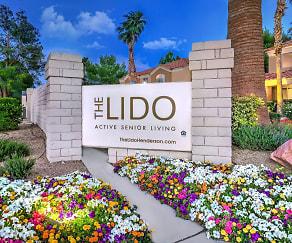 Community Signage, The Lido Senior Living