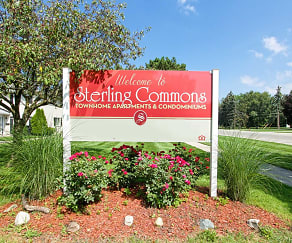 Community Signage, Sterling Commons Townhouse Apartments