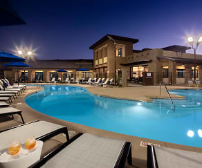 Sparkling Pool & Spa Deck, The Well Apartments