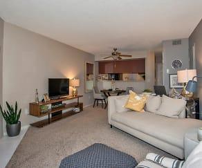 Living Room, Advenir at Del Arte