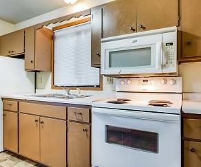 Kitchen, Kenwood Apartments