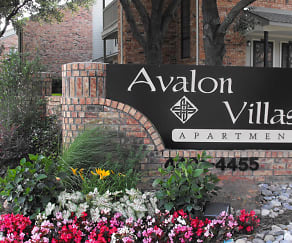 Front View of Property Sign, Avalon Villas
