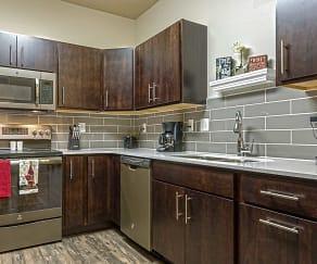 Kitchen, Pineview Apartments