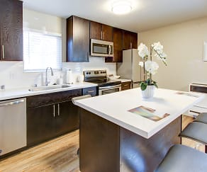 Kitchen, Stratus Apartments